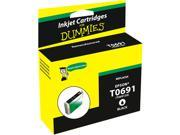 Ink for Dummies DE-T0691 Black Ink Cartridge Replaces Epson T0691