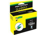 Ink for Dummies DE-T0692 Cyan Ink Cartridge Replaces Epson T0692