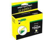 Ink for Dummies DE-T0694 Yellow Ink Cartridge Replaces Epson T0694