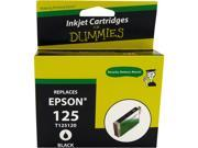 Ink for Dummies DE-T1251 Black Ink Cartridge Replaces Epson T1251