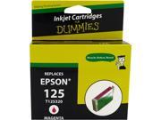 Ink for Dummies DE-T1253 Magenta Ink Cartridge Replaces Epson T1253
