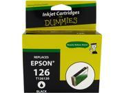 Ink for Dummies DE-T1261 Black Ink Cartridge Replaces Epson T1261