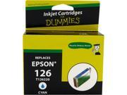 Ink for Dummies DE-T1262 Cyan Ink Cartridge Replaces Epson T1262