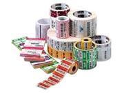 """Zebra 10010029-EA 3"""" X 2"""" DT Z-Perform 2000D Paper Label, Perf, Per Roll"""