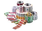 """Zebra 10010048-EA 4"""" X 2.5"""" DT Z-Select 4000D Paper Label"""