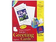 Avery 3265 Personal Creations Printable Half-Fold Cards, 5-1/2 x 8-1/2, 20/Box