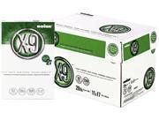 Boise OX-9007 X-9 Copy Paper, 92 Brightness, 20lb, 11 x 17, White, 2500 Sheets/Carton