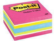 Post-it Notes 2027RCR Cube, 3 x 3, Ultra, 390 Sheets