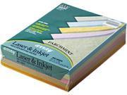 Pacon 101079 Array Colored Bond Paper, 24lb, 8-1/2 x 11, Assorted Parchment, 500 Sheets/Ream