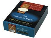 Southworth 404IC 25% Cotton Business Paper, 24 lbs., 8-1/2 x 11, Ivory, 500/Box