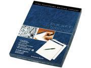 Tops 63984 Docket Diamond Litigation Ruled Pad 8 1 2 x 11 3 4 Ivory 50 Sheet 2 Pads Box