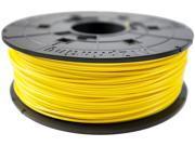XYZprinting da Vinci ABS Filament (for 1.0, 1.1+, AiO, 2.0, Pro), YELLOW Color