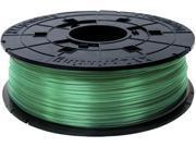 XYZprinting da Vinci PLA Filament (for 1.0, 1.1+, AiO, 2.0, Pro), CLEAR GREEN Color