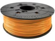 XYZprinting da Vinci PLA Filament (for 1.0, 1.1+, AiO, 2.0, Pro), CLEAR TANGERINE Color