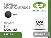 Printlogic PRL12A Black Toner