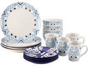 Rachael Ray 16-pc. Ikat Dinnerware Set