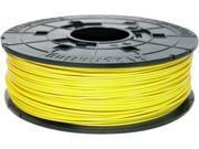 XYZprinting da Vinci ABS Filament (for 1.0, 1.1+, AiO, 2.0, Pro), NEON YELLOW Color