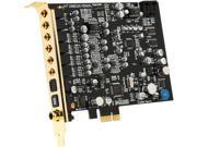 HT | OMEGA FENIX 7.1 Channels PCI Express x1 Interface Sound Card