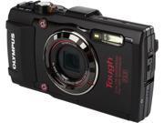 Olympus Stylus TOUGH TG-4 Digital Camera, Black, V104160BU000