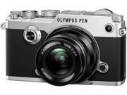 "OLYMPUS PEN-F V204060SU000 Silver 3.0"" LCD Digital Camera"