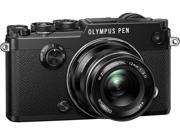 "OLYMPUS PEN-F V204060SU000 Black 3.0"" LCD Digital Camera"