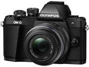 OLYMPUS OM-D E-M10 Mark II Black with 14-42 II R Lens