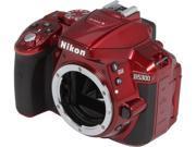 Nikon D5300 1520 Red Digital SLR Camera - Body