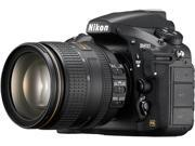 Nikon D810 1556 Black 36.3 MP Digital SLR Camera with 24-120mm Lens
