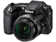 Nikon COOLPIX L840 26485 Black 16.00 MP 38X Optical Zoom Wide Angle Digital Camera