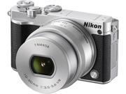 Nikon 1 J5 27709 Silver Mirrorless Digital Camera with 10-30mm Lens
