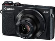 Canon G9 X Black 20.2 MP 3X Optical Zoom 25mm Wide Angle Digital Camera