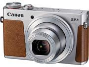 Canon G9 X Silver 20.2 MP 3X Optical Zoom Digital Camera