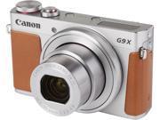 Canon G9 X Silver 20.2 MP 25mm Wide Angle Digital Camera