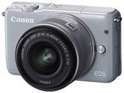 Canon EOS M10 0923C011 Mirrorless Digital Camera with 15-45mm Lens Gray
