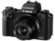 Canon PowerShot G5 X Black 20.2 MP 25mm Wide Angle Digital Camera