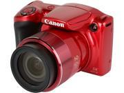 Canon PowerShot SX420 IS Digital Camera - Red