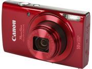 Canon PowerShot Elph190 20.0-Megapixel Digital Camera Red 1087C001