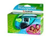 FUJIFILM 7025227 Green Waterproof Shockproof QuickSnap 35mm Disposable Camera