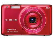FUJIFILM FinePix JX680 16292241 Red 16 MP 26mm Wide Angle Digital Camera