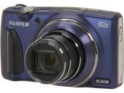 FUJIFILM FinePix F900EXR 16316451 Indigo Blue 16 MP 25mm Wide Angle Digital Camera HDTV Output
