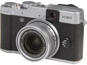 FUJIFILM X20 Silver 28mm Wide Angle Digital Camera HDTV Output