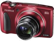 FUJIFILM FinePix F900EXR Red 16 MP 20X Optical Zoom 25mm Wide Angle Digital Camera HDTV Output