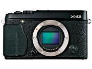 "FUJIFILM X-E2 16404870 Black 16 MP 3.0"" 1040K LCD Compact Mirrorless System Camera - Body"