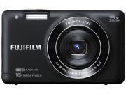 FUJIFILM FinePix JX660 16291015 Black 16 MP 26mm Wide Angle Digital Camera