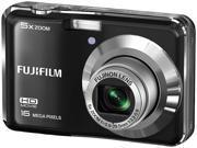 FUJIFILM FinePix AX655 BLKAX655FBRRFB-RFB Black 16MP Digital Camera