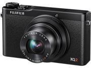 FUJIFILM XQ2 16454813 Black 12.0 MP 4X Optical Zoom 25mm Wide Angle Digital Camera HDTV Output