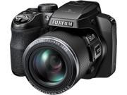 FUJIFILM FinePix S9800 Black 16.2 MP 50X Optical Zoom 24mm Wide Angle Digital Camera HDTV Output