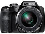 FUJIFILM FinePix S9900W Black 16.2 MP 50X Optical Zoom 24mm Wide Angle Digital Camera HDTV Output