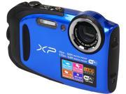 "FUJIFILM FinePix XP80 16449430 Blue 16.4 MP 2.7"" 460K Tough Camera"
