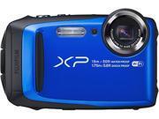 "FUJIFILM XP90 Blue 16.4 MP 3.0"", approx. 920K-dot, TFT color LCD monitor Digital Camera - Blue"